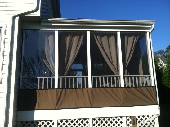 Clear Vinyl Patio Enclosure Weather Curtains Clear Vinyl Panels for Patio