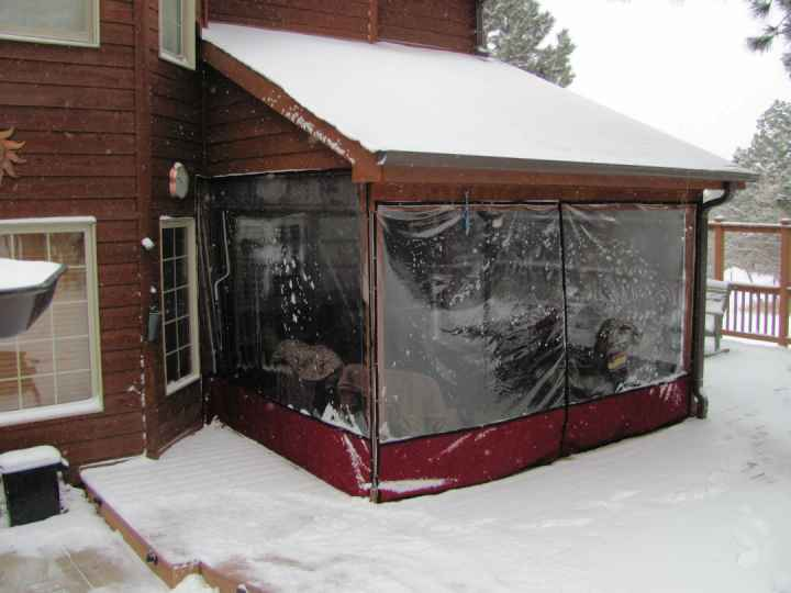 Clear Vinyl Patio Enclosure Weather Curtains Clear Vinyl Patio Enclosures