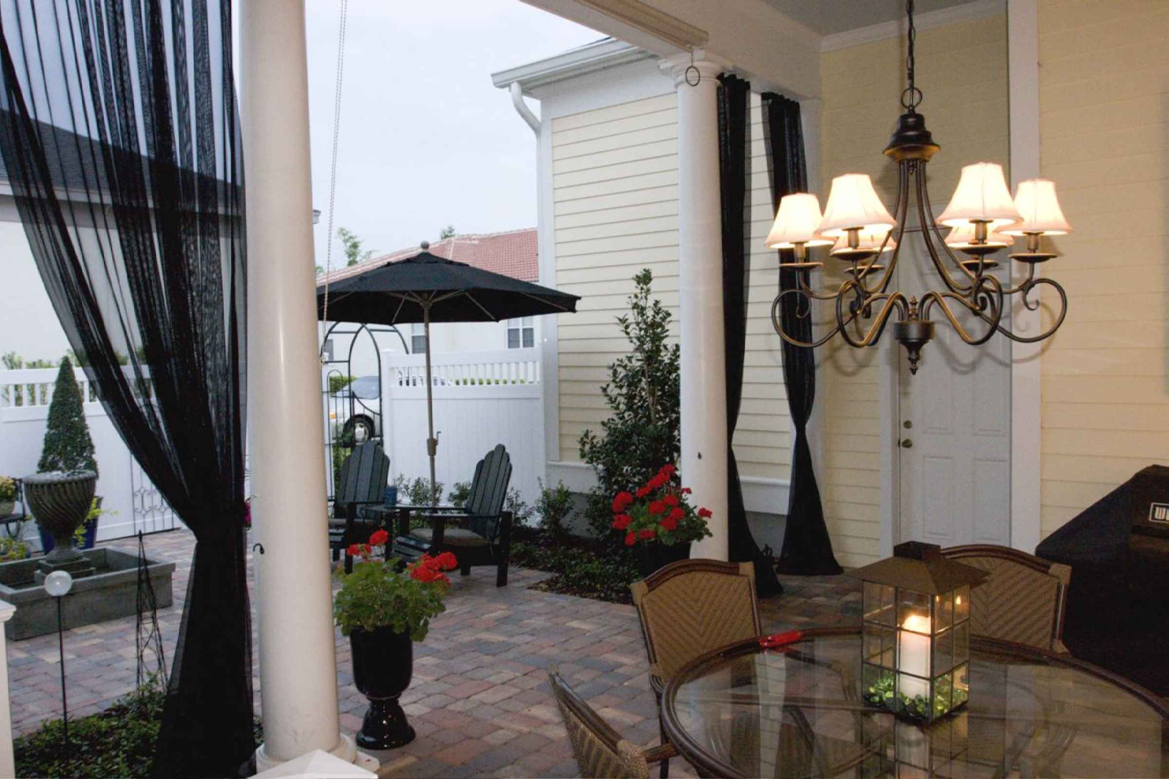 Mosquito Netting Curtains For Patio Home Design Ideas and