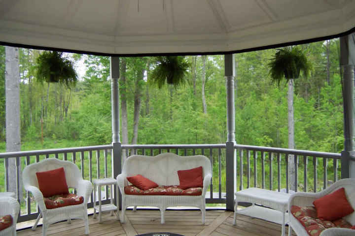 screened porch · bug nets ... & Mosquito netting curtains and no-see-um netting curtains